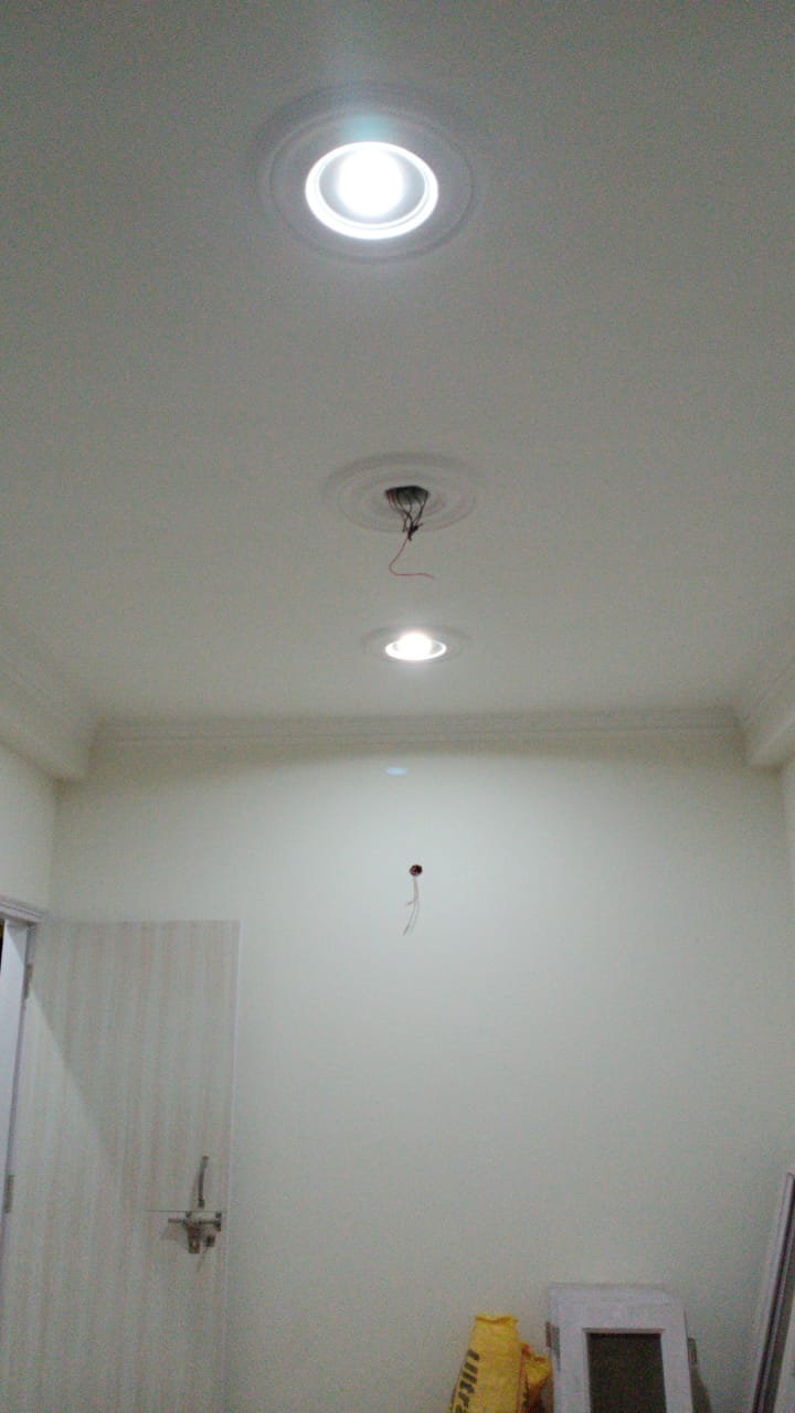 LED lighting conserving electricity